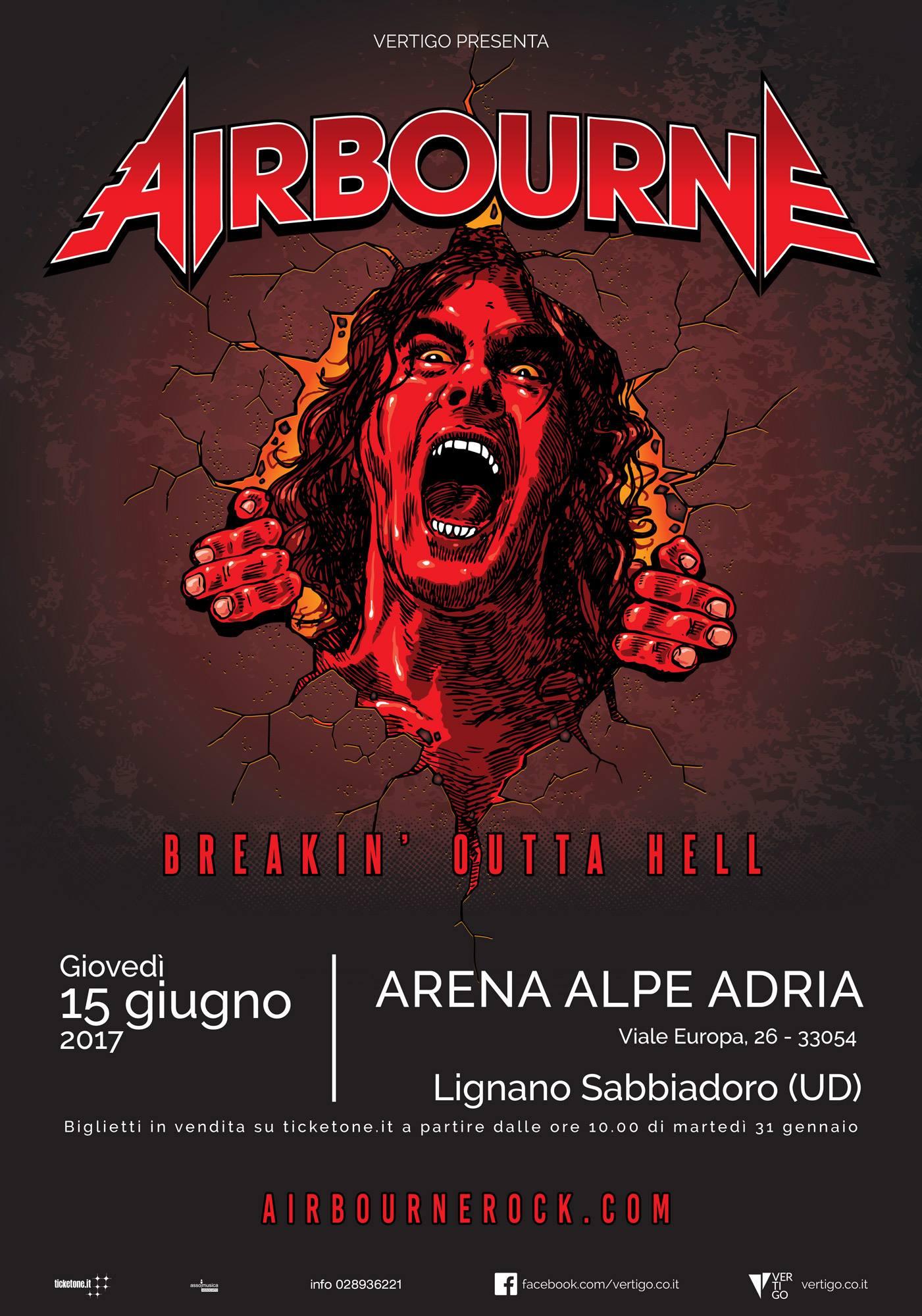Airbourne Udine